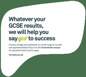 GCSE message bubble