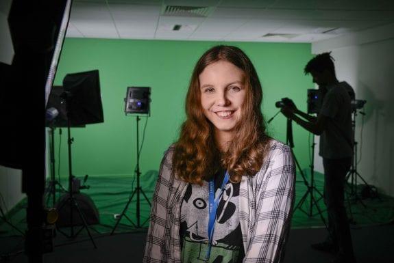 Ellie Schofield Media student