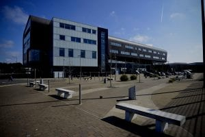 Exterior view of Furness College Channelside Campus