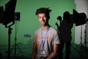 Jeremy Holstein Media student
