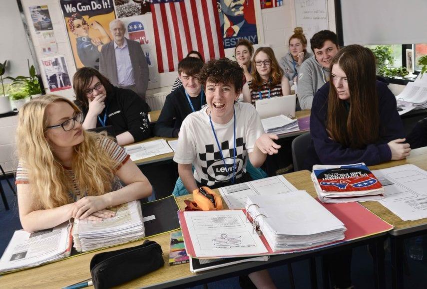 Politics students