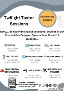 Twilight Taster Sessions