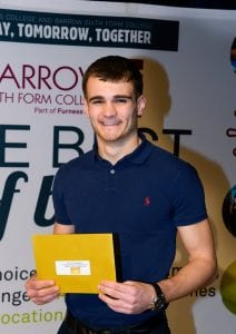 Top performing student Elliott Stockdale has been shortlisted for a national education award