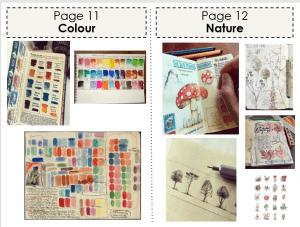 Art Classwork (Colour and Nature)