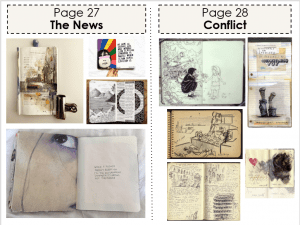 Art Classwork (The News and Conflict)