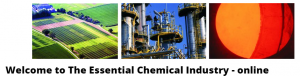 Welcome to the Essential Chemical Industry - online