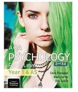 AQA Psychology - Front Cover