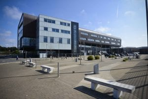 Furness College exterior view Channelside Campus