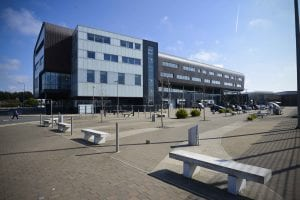 Furness College exterior view of Channelside Campus