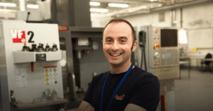 Engineering student Paul Bland is among those who have recieved a scholarship from Orsted