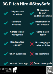 3G Pitch Hire Rules
