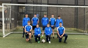 Group photo of Barrow AFC academy students