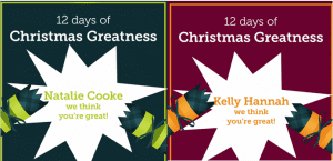 Get Ready for Greatness Winners Natalie and Kelly