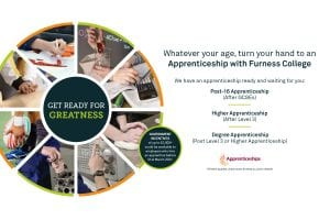 Image showing information on Furness College apprenticeships