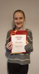 Top student for 2020 - Amy Spry