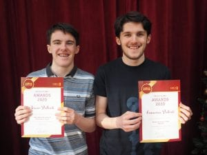 Prizewinning twins Jason and Cameron Pollock