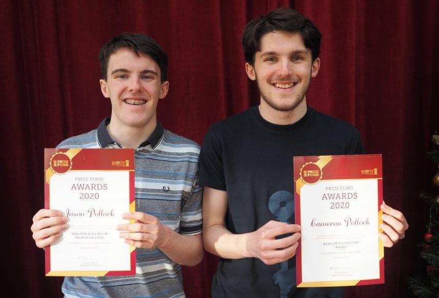 Prizewinning twins Jason and Cameron Pollock