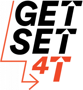 Get Set for T Logo