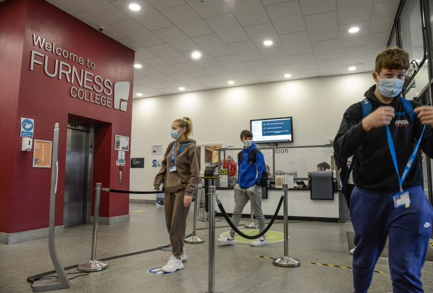 Furness College students are highly satisfied with their programmes, according to a national survey.